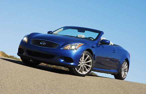 2009 infiniti g37s hardtop convertible review test drive. Black Bedroom Furniture Sets. Home Design Ideas