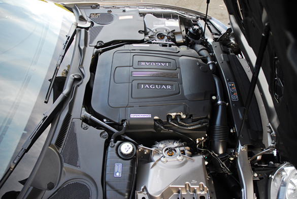 2010 Jaguar XKR Engine