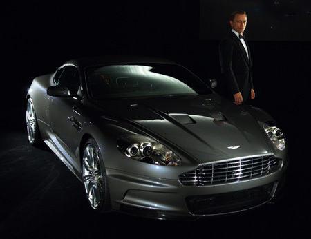 One Dirty Aston Martin DBS: Quantum Of Solace 007