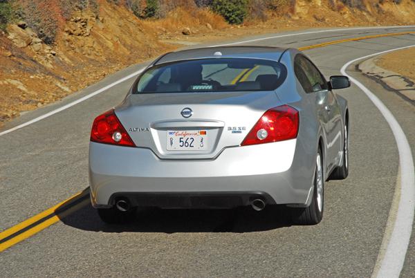 2009 Nissan Altima Coupe 3 5 Se Test Drive
