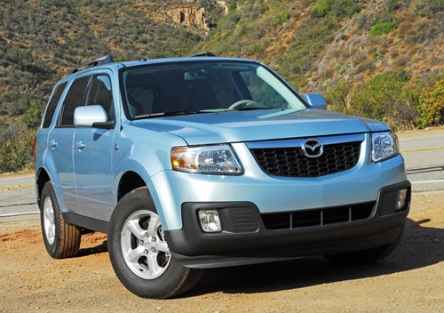 2009 Mazda Tribute Hybrid Test Drive