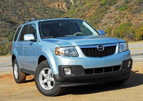 2009 Mazda Tribute Hybrid Test Drive