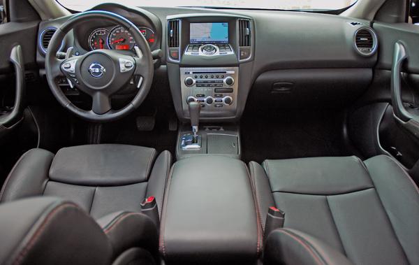 2009 Nissan Maxima 35 Sv Test Drive