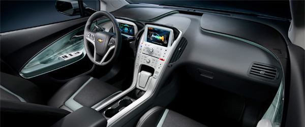 2011 Chevy Volt Interior Images At GM 2009 Collection Event