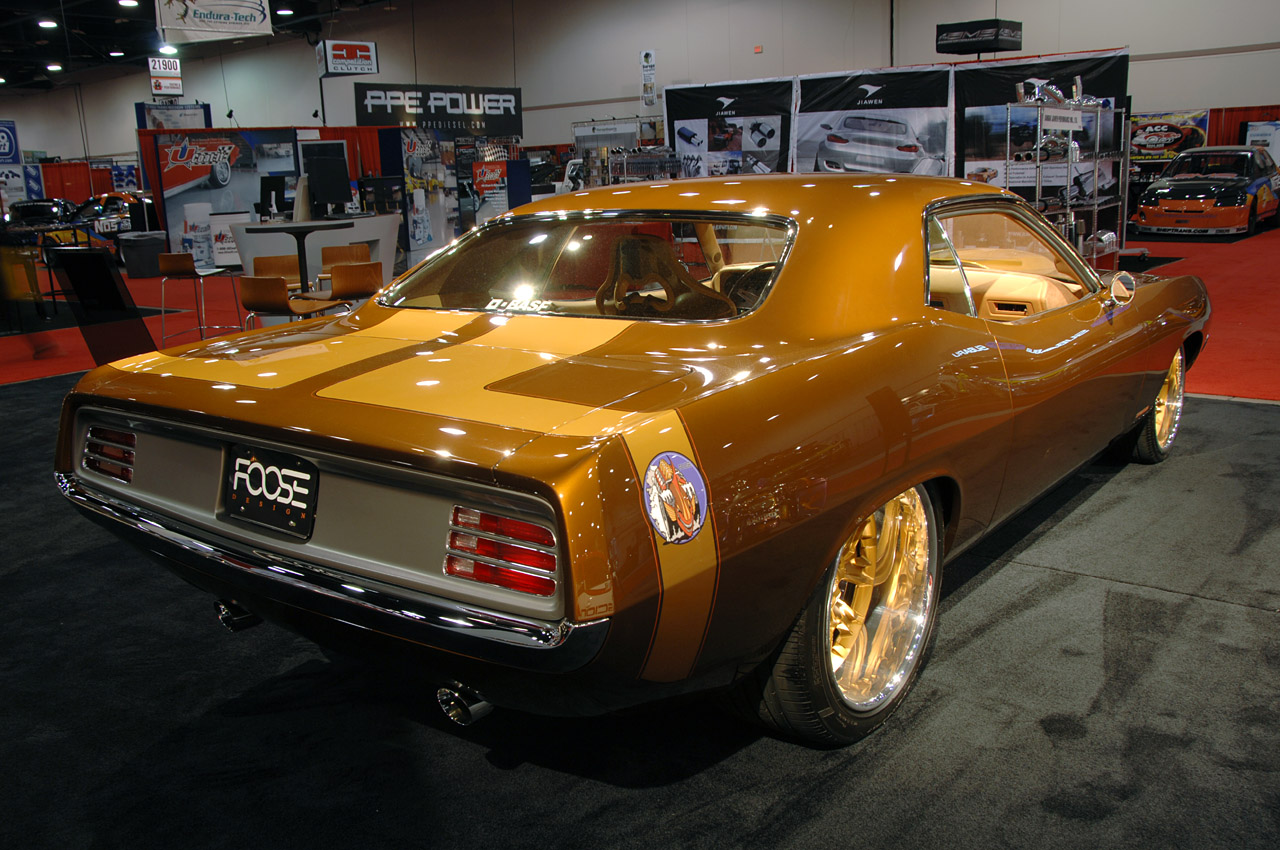 Sema 2008 Dodge Brings Out Some Heavy Hitters To This