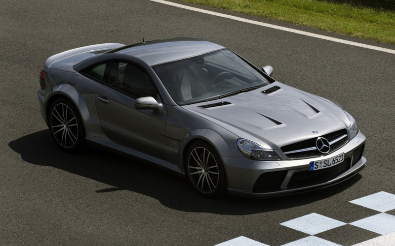 Black Is Back: Mercedes SL65 AMG Black Series