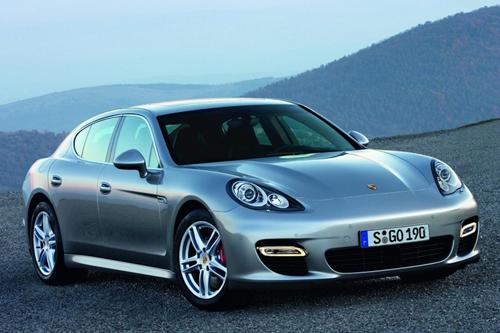 Leaked Photos: 2010 Porsche Panamera Images