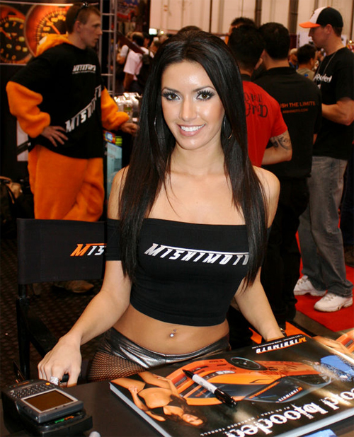 SEMA 2008: The Girls of SEMA – SEMA Booth Girls