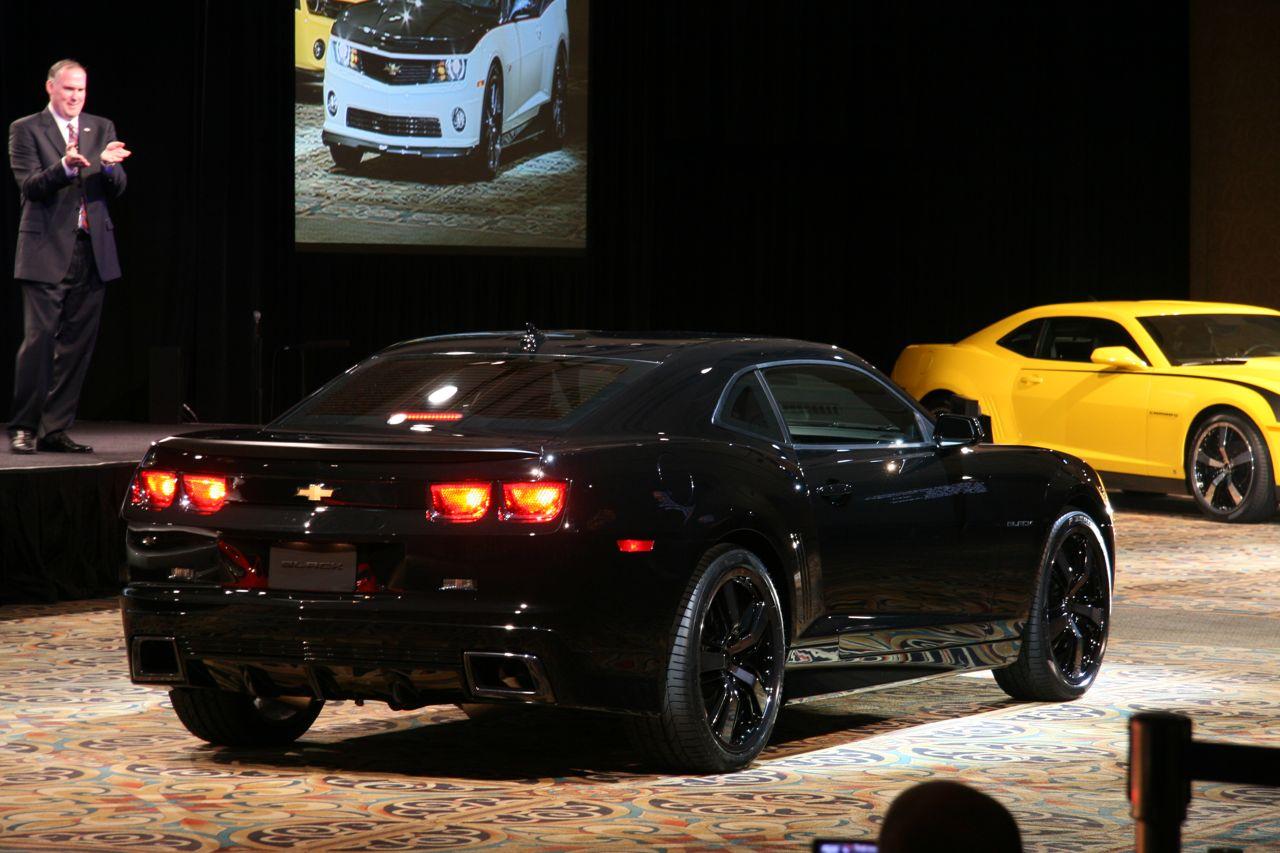 Sema 2008 Chevy Camaro S Galore Camaro Concepts