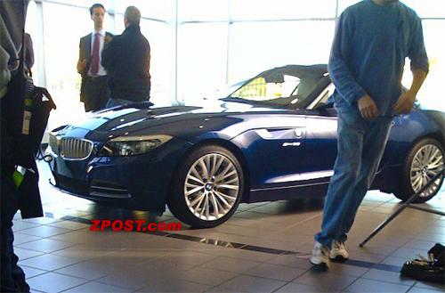 Spied On Set: 2010 BMW Z4 Gets Spied On A Movie Set