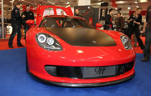Essen Motor Show: 9FF Shows Off 900HP Porsche Carrera GTT 900