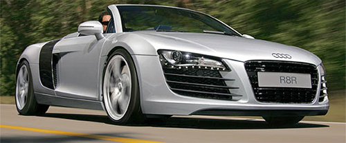 Audi R8 Spider Crawls It's Way onto Automotive Addicts