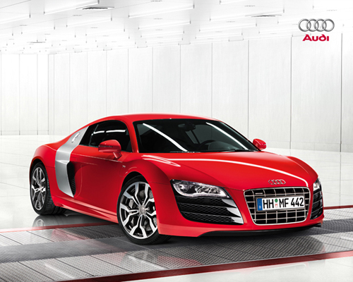 Caught Red Handed: Audi R8 V10 5.2 FSI Quattro