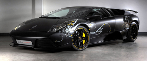 A Serious Fashion Statement: edo competition Murcielago LP710 Audigier Edition
