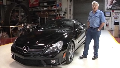 Benz Goes Hard Core: In Jay Leno's Garage – Mercedes Benz SL63 AMG