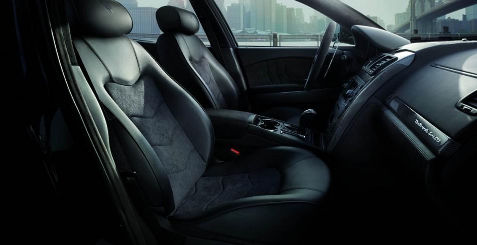 Maserati Quattroporte Sport interior