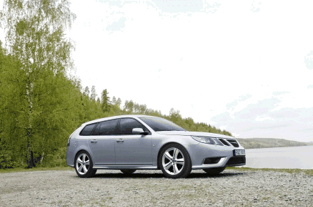 2009 saab 9 3 sportcombi named top 5 wagon by nadaguides com. Black Bedroom Furniture Sets. Home Design Ideas