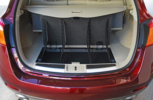 Nissanmuranorearcargoorganizer Fixedsmall