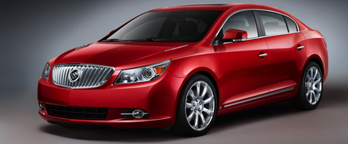 A New Sexy Sedan From GM: 2010 Buick LaCrosse