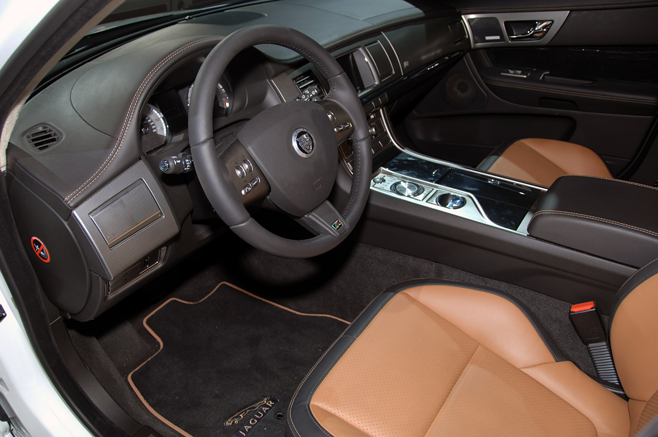 2010 Jaguar XFR Interior
