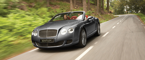 Drop-Top Continental GTC Gets The Speed Treatment: Bentley Continental GTC Speed
