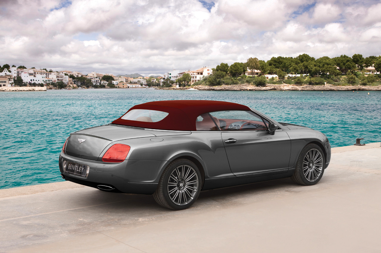 Drop-Top Continental GTC Gets The Speed Treatment: Bentley ...