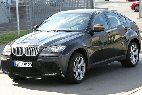 2011 Upcoming Cars BMW X6 M