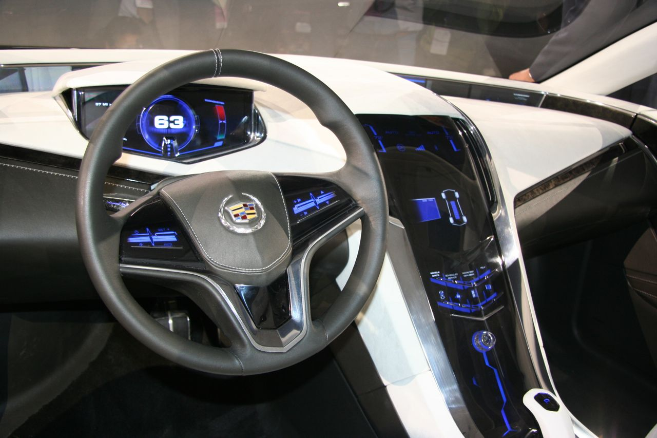 Detroit 2009: Cadillac Converj (Built off of Chevy Volt ...