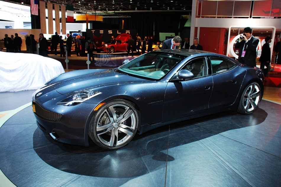 fisker brings karma to the 2009 north american international auto show. Black Bedroom Furniture Sets. Home Design Ideas