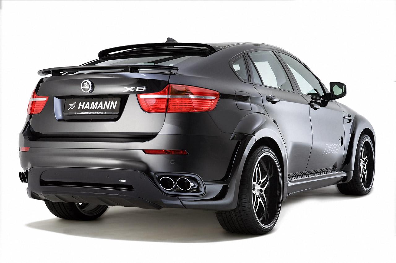 Hamann Bmw X6 Tycoon Rear