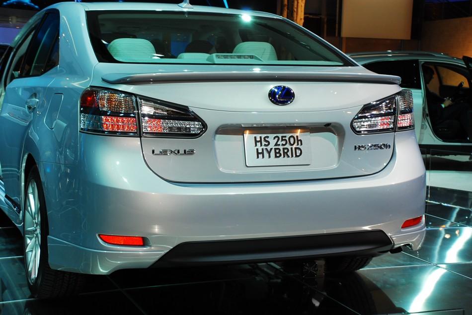 Prius Upgrade At the 2009 NAIAS: Lexus HS 250h