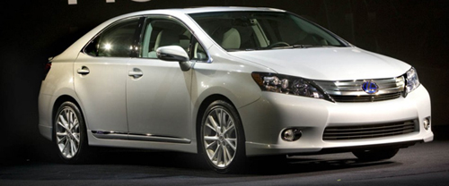 Prius Upgrade At the 2009 NAIAS: Lexus HS 250h