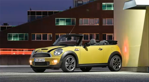 2009 NAIAS: Mini Cabrio & Mini E Make World Premier in Detroit – Video