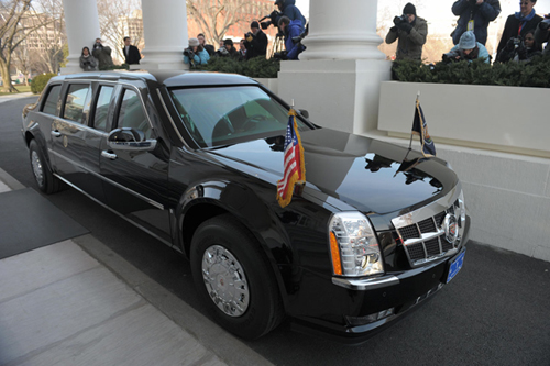 President Obama's Presidential Limousine: The Beast