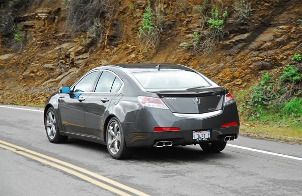 2009 Acura Tl Sh Awd Test Drive