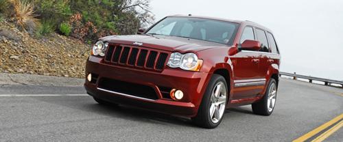 2009 jeep grand cherokee srt8 test drive. Black Bedroom Furniture Sets. Home Design Ideas