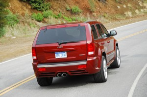 2009jeepgrandcherokeesrt8rearaction01small