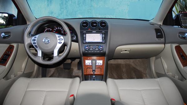 2009 Nissan Altima Hybrid Test Drive