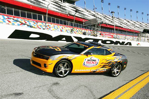 Chevrolet Camaro SS Debuts As Official Daytona 500 Pace Car
