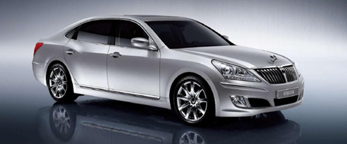 Hyundai Equus: Official Images and Information