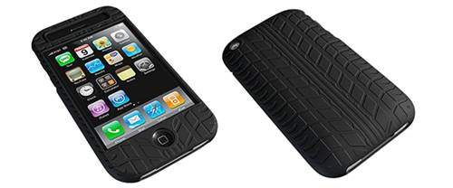 iPhone, iPhone 3G & 3GS Treadz Case: Trick Out Your iPhone With a Car Tire Case