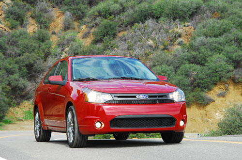 2009 Ford Focus Coupe SES Test Drive
