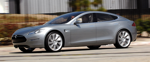 Tesla Model S – It's Alive! Official Images