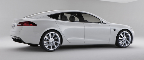 Tesla Model S Images Leaked Just Before Today's Official Unveiling