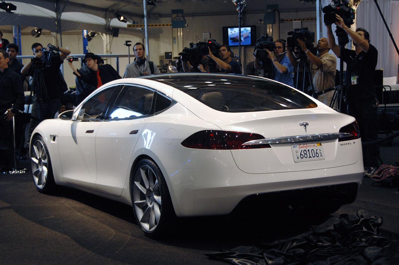 Hellcat Challenger For Sale >> Tesla Model S – It's Alive! Official Images