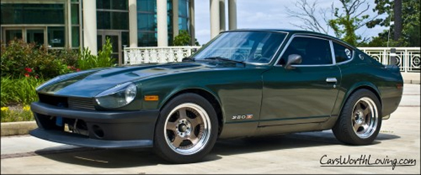 """1977 Datsun 280Z – The """"Green Meany"""""""