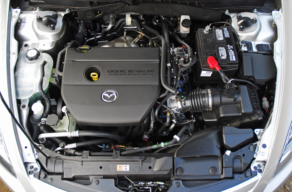 2009 mazda 6 v6 horsepower