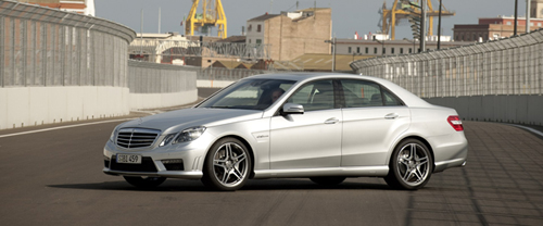 2010 Mercedes Benz E63 AMG Puts The Smack Down