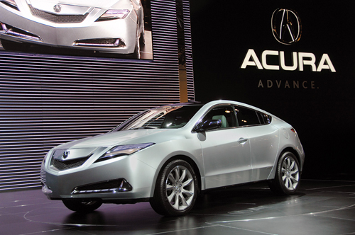 2009 New York International Auto Show: Acura ZDX Debuts