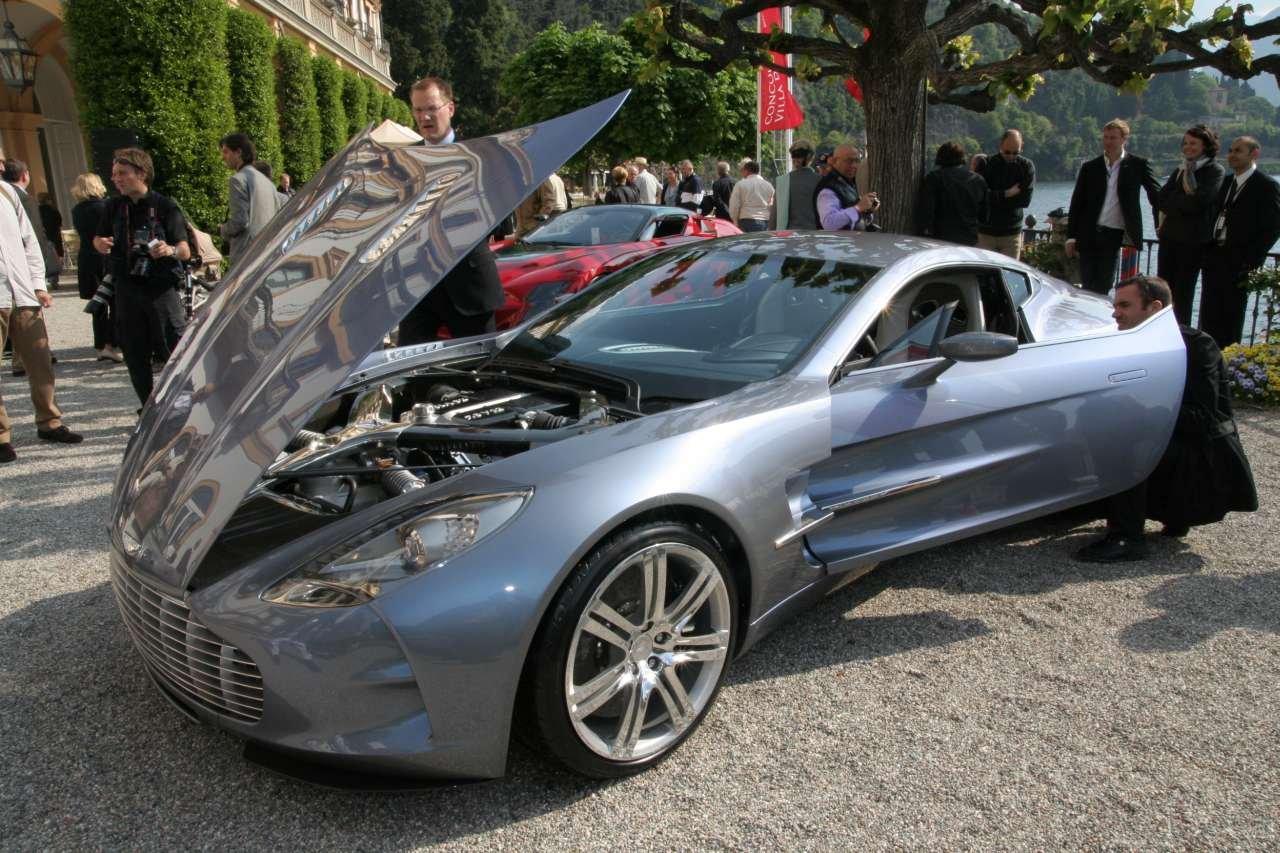 Aston Martin One 77 Hood Open